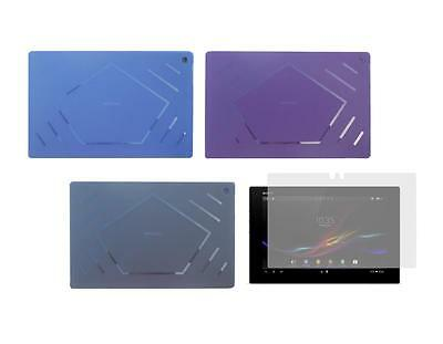 TPU Skin Cover Case + Screen Protector for Sony Xperia Tablet Z SGP311 SGP312