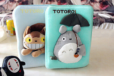 Totoro  I P A D Air I P A D MINI Case Storage Bag  Cosmetic Bag Pencil Case 3D