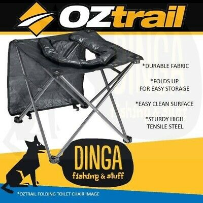 OZTrail Instant Folding Toilet Chair