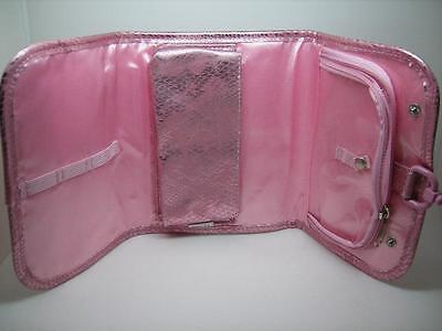 Mally Beauty Pink Rise And Shine Hanging Bag Organizer Makeup Cosmetic Holder