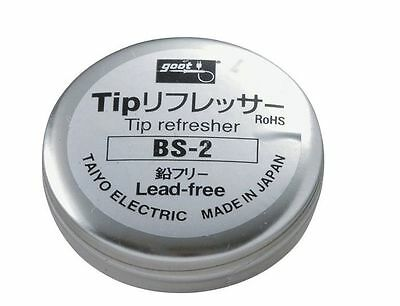 Goot BS-2 Soldering Tip Refresher Lead-Free Cleaner TAIYO Electric