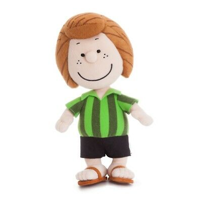 "PEANUTS 10"" Pepperment Patty Cuddly Soft Toy Teddy by AURORA Snoopy"