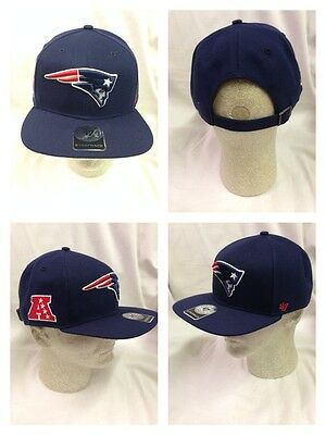 77a99f83c57 New England Patriots Strapback 47 Brand Super Shot 47 Captain Hat Cap  Adjustable