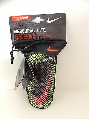 Mercurial lite set of soccer shinguards with sleeves