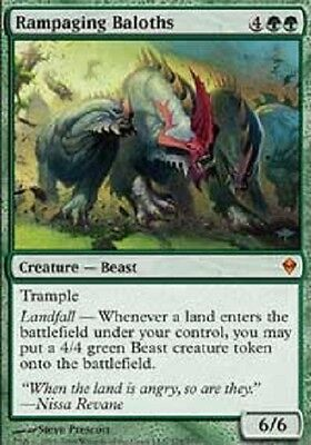 MAGIC CMD2013 BALOTH INFURIATI MTG RAMPAGING BALOTHS