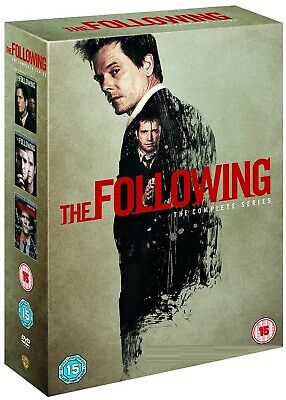 THE FOLLOWING 1-3 (2013-2015): COMPLETE TV Drama Season Series - R2 DVD not US