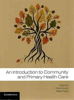 An Introduction to Community and Primary Health Care by Diana Guzys Paperback Bo