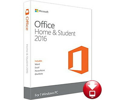 Microsoft Office Home & and Student 2016 1PC Product license Tax Invoice