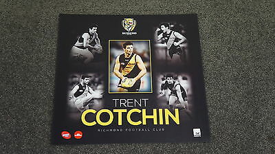 Trent Cotchin Richmond Unsigned Official AFL Player Print Unframed NEW