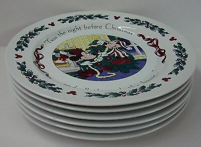 Disney China TWAS THE NIGHT BEFORE CHRISTMAS Dinner Plate (s) CHOICE SCENE