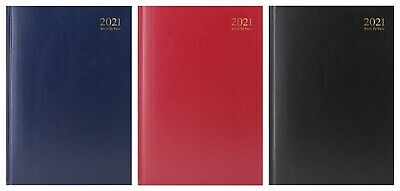 JMS® 2018 A4 Size Week to View Hardback Diary-Random Delivery of Colour-3185