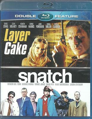 Layer Cake/Snatch  (Blu-ray Disc, 2013, 2-Disc Set) Brand New/Sealed