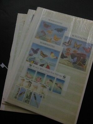 ANGOLA : Beautiful all VF, MNH collection of all Complete sets & S/Ss. Cat $636.
