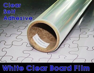 Size Choice /White Board Clear Film/Magic/Vinyl/Window install/Written erase/S.A