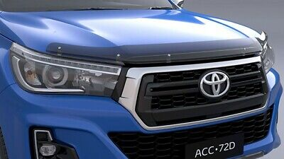 Toyota Hilux Tinted Bonnet Protector July 2015> New Genuine Accessory