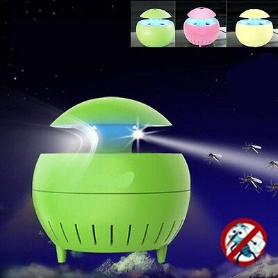 LED Catalysis UV Electronic Mosquito Repellent Lamp Insect Zapper Trap Killer
