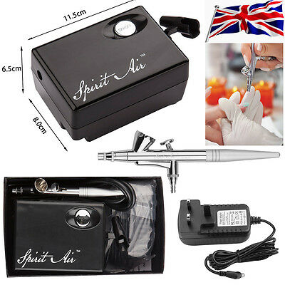 Fashion SP16 Beauty Special Air Brush Compressor Suit Airbrushing Art Kit Set