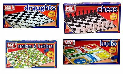 Traditional Board Games Family Fun Party Classic Kid Child Full Size Party Toy