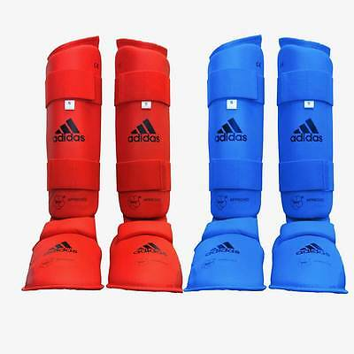 adidas Karate WKF Approved Martial Arts Shin and Insteps