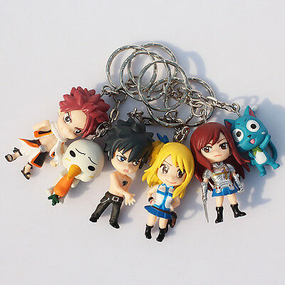 Fairy Tail Japanese Anime Figures / Keyrings / keychain / Cosplay UK Stock