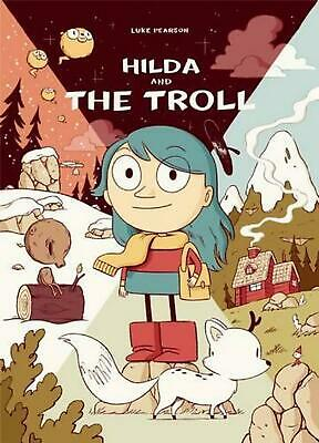 Hilda and the Troll by Luke Pearson (English) Paperback Book Free Shipping!