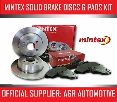 MINTEX FRONT DISCS AND PADS 284mm FOR MERCEDES-BENZ W124 200 TD ESTATE 1985-91
