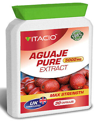Bigger Breast & Buttocks And Hips Enlargement Aguaje Pure 5000mg Pills