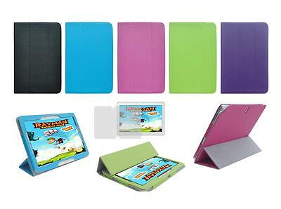 """Folio Cover Case and Screen Protector for Samsung Galaxy Note 10.1"""" SM-P600 2014"""
