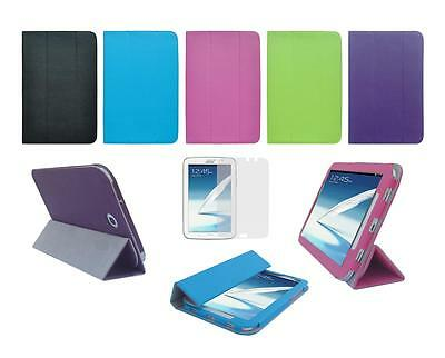 """Folio Skin Cover Case and Screen Protector for Samsung Galaxy Note 8"""" GT-N5110"""