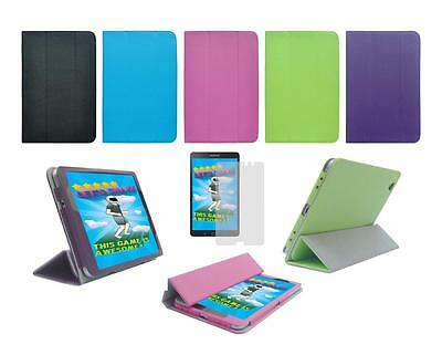 """Folio Smart Cover Case and Screen Protector for Samsung Galaxy Tab Pro 8.4"""" T320"""
