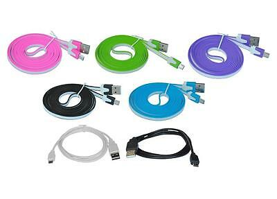 """for Samsung Galaxy Tab 3 7"""" SM-T210R USB Data Sync Charge Transfer Cable Cord"""