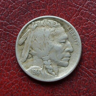 USA 1914 nickel 5 cents
