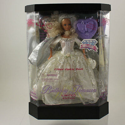 Fashion Corner - Birthday Treasures (April) Fiber Optic Doll Limited Edition *NM