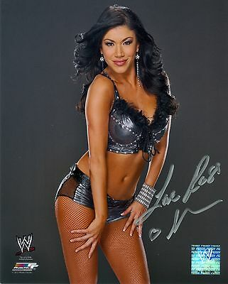 Rosa Mendes Wwe Signed Autograph 8X10 Photo #2 W/ Proof