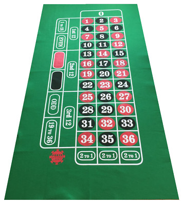 Las Vegas Felts Layouts Baize- Choose Craps Roulette Texas Hold Em Blackjack