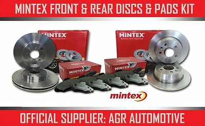 Mintex Front + Rear Discs And Pads For Volvo V70 2.3 Turbo T5 2000-07 Opt2