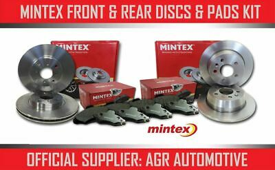 Mintex Front + Rear Discs And Pads For Volvo S60 2.4 Turbo T5 2005-07 Opt3