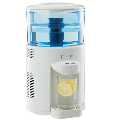 Lenoxx 5L Bench Top Water cooler Filter Dispenser Chiller Cooling Cold Dual Tap