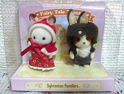 Sylvanian Families Baby Pair - Fairy Tale Theater ❤ Japan (Calico Critters)