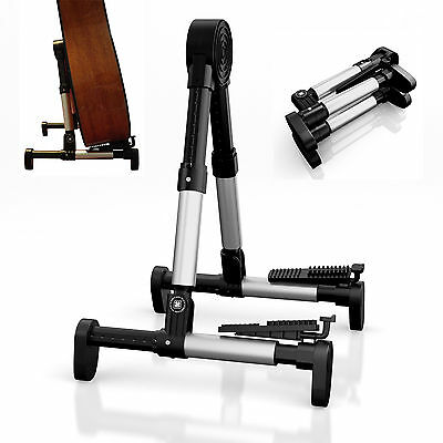 Latest Design Guitar Stand for Electric Acoustic Bass Folding Adjustable Holder