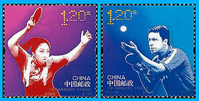 Sweden Stamp, 2013 SWE1313 Table Tennis - Chinese Stamps, Ping Pong, Sport