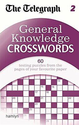 The Telegraph: General Knowledge Crosswords 2 (The Telegraph... by THE TELEGRAPH