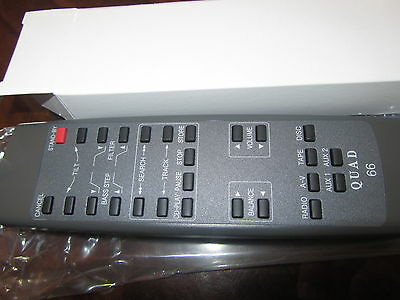 Remote QUAD 66 PreAmp tuner cd system pre amplifier Control hand Controller