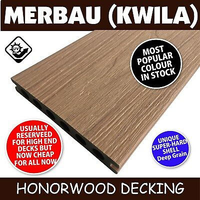 COMPOSITE DECK - LIGHT TEAK DECKING - Our BEST seller 5400x150x25mm