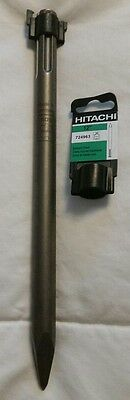 Hitachi 724963 SDS-Max 12-Inch Bull Point Chisel, New, Made in Germany
