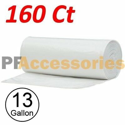 160 Strong 13 Gallon Commercial Kitchen Trash Bag 13 Gal Garbage Bag Yard Clear