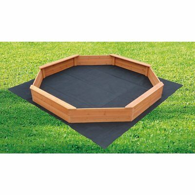 Kids Sand Pit Large Octagonal Wooden Sandpit Play Toy Outdoor