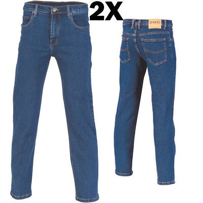 2X - Demin Stretch Jeans Brand New Clothes Work Wear 3318 Dnc