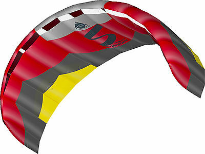 HQ Symphony Pro, 1.8 Power Kite Ready To Fly Package Colour Edge