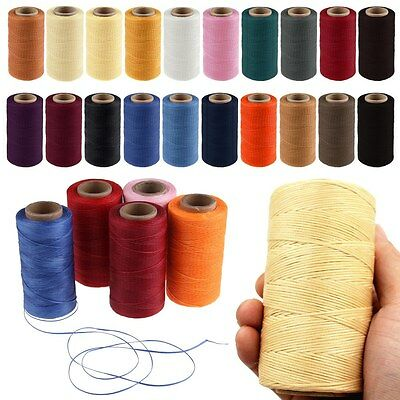 Cord Waxed Thread Wax DIY Bracelet Jewelry Linen Spool Leather Craft Sewing